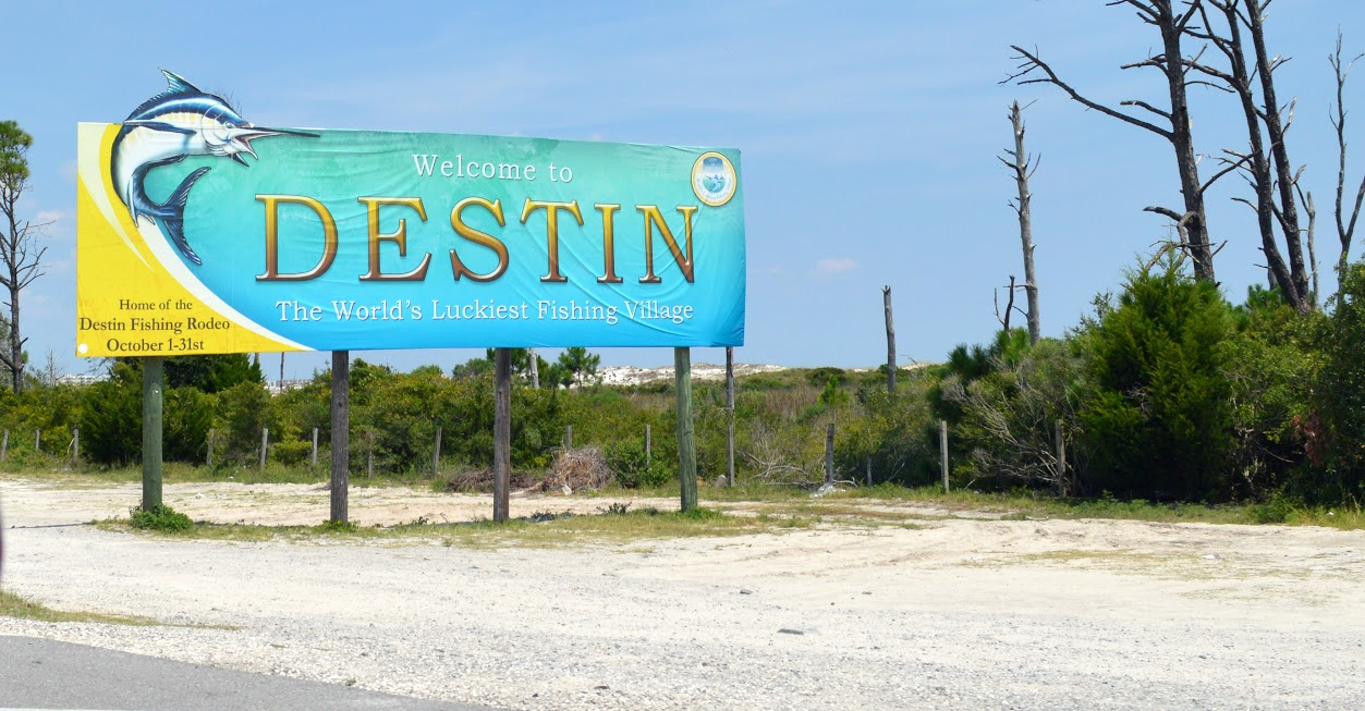 welcome to Destin!